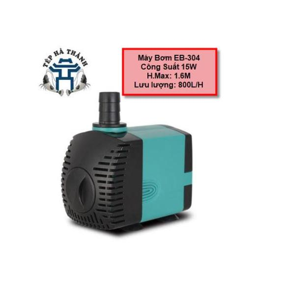 Máy Bơm Bể Cá EBANG 304-15W, máy có thiết kế nhỏ gọn, chỉ nằm trong lòng bàn tay, chất liệu khối bằng nhựa ABS an toàn, chống cháy nổ