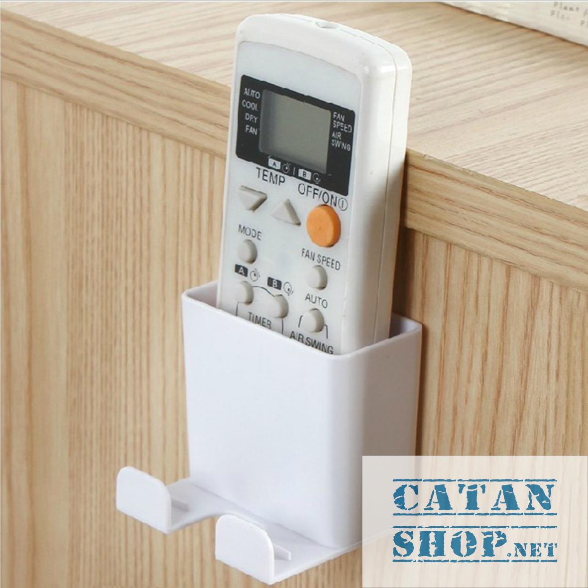 [HCM]Kệ đựng remote máy lạnh đa năng treo Sạc Điện Thoại tiện dụng cho không gian nhà bạn thật gọn gàng. GD153-KRKTSac