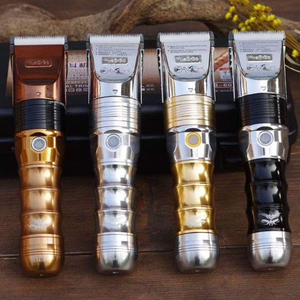Tông Đơ Cắt Tóc Chuyên Nghiệp HUERBO B60 Pin Trâu Lưỡi Thép Cực Bén nhập khẩu