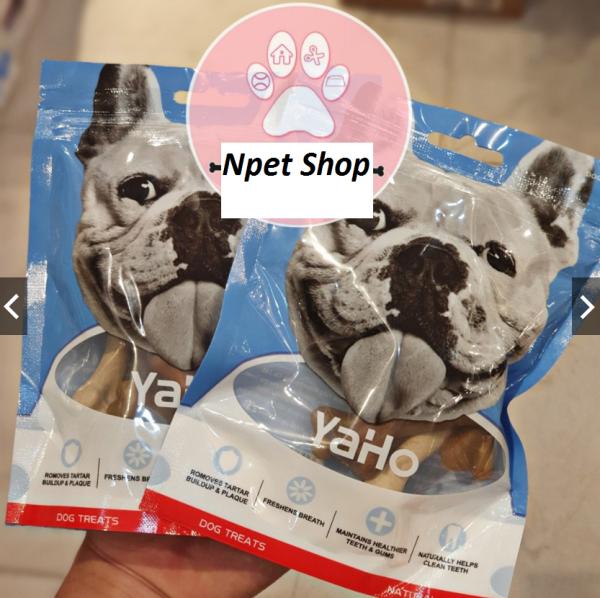 Xương Gặm Ăn Vặt Dinh Dưỡng Sạch răng YAHO MY DOG Cho chó 90g