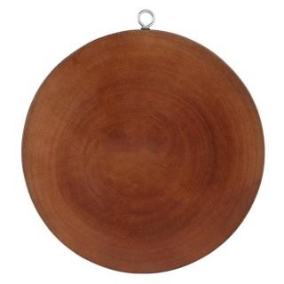 Thớt gỗ tự nhiên bao nặng loại tròn size lớn có móc treo cao cấp thumbnail