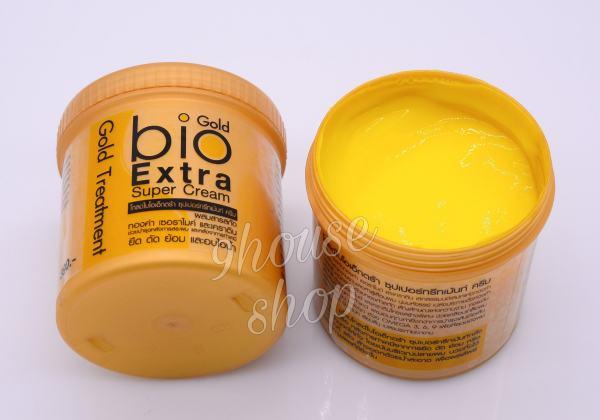 (HỦ 500ML) 01 Hủ Ủ TÓC BIO Vàng Gold Treatment Thái Lan 500ml