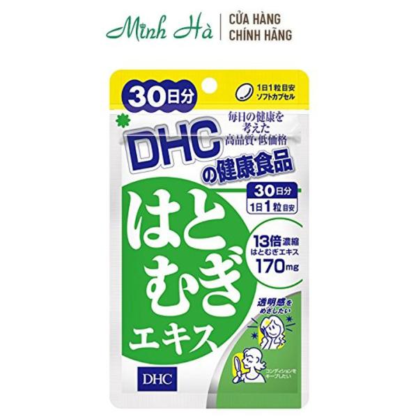 Viên uống trắng da DHC Nhật Bản Adlay Extract gói 30 viên cho 30 ngày giá rẻ