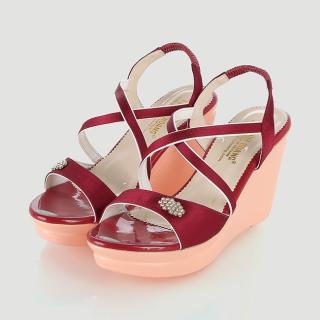 Giày nữ Huy Hoàng màu đỏ HK7065
