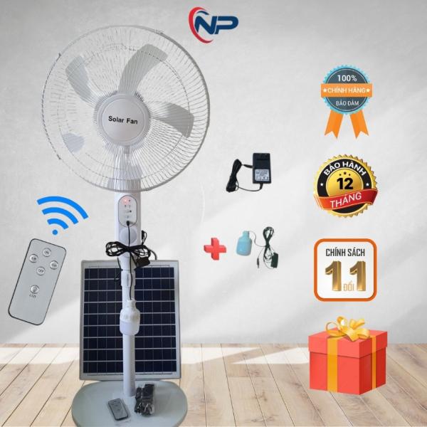 [Quà 25k] Quạt Năng Lượng Mặt Trời, Quạt Tích Điện Năng Lượng Mặt Trời Mẫu Mới Nhất 2021, Điều Khiển Từ Xa, Tích Hợp Cổng Sạc USB 5V Đi Kèm Đèn Led Dây Dài 3M, Sạc dây 220V, Quà Tặng 3 Cuộn Băng Keo Hàn Quốc