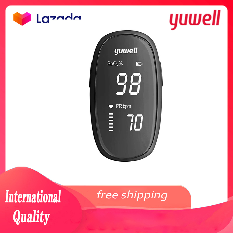 Xiaomi Yuwell YX102 Oximeter OLED Finger Pulse Oximeter Finger Clip Preventive Heart Pulse Oximeter Heart Rate Low Voltage bán chạy
