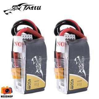 Pin Tattu 450mAh 11.1V 75C 3S1P Lipo Battery Pack with XT30 Plug - cho H Frame thumbnail