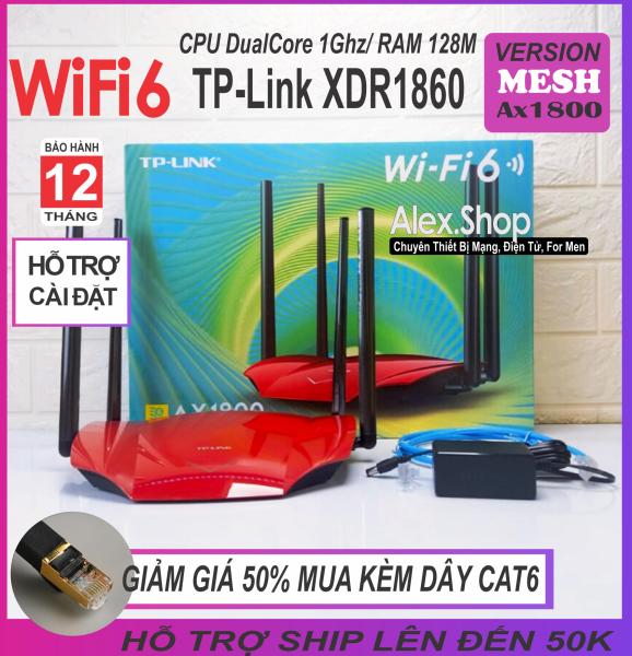 Bảng giá Phát WiFi 6-Mesh TP-Link Xdr1860 AX1800 Công Suất Cao Băng Thông 1800M  - BH 12 Tháng Phong Vũ