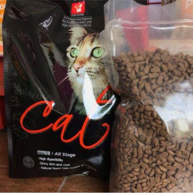 Thức ăn cho mèo dạng hạt Cat s Eye túi Zip 1kg