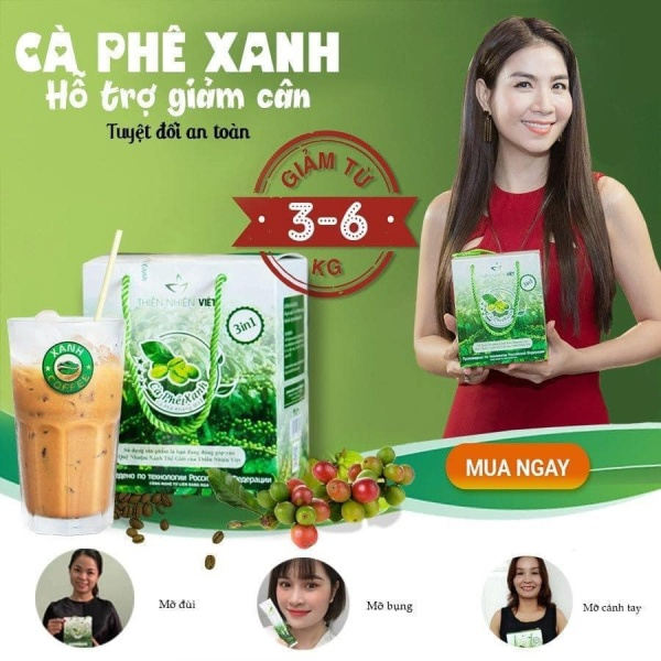 Cà phê xanh ( 30 Gói ) nhập khẩu