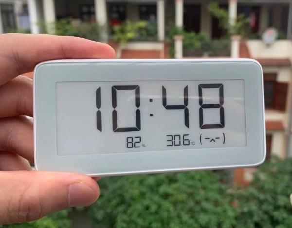 GIÁ HỦY DIỆT ⚡⚡⚡ Đồng Hồ Nhiệt Ẩm kế thông minh Bluetooth Mijia kết nối App Mihome bán chạy