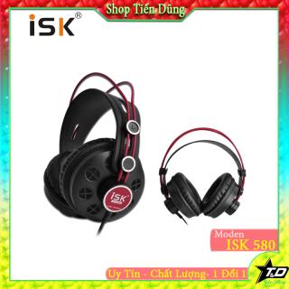 Tai nghe chụp tai isk hp580 dòng có dây kiểm âm nên cho âm thanh chất lượng - Tai nghe kiểm âm hp 580 dòng tai dây thumbnail