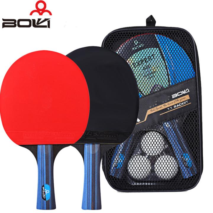 Bảng giá Bộ 2 vợt bóng bàn Boer A10 tặng 3 bóng
