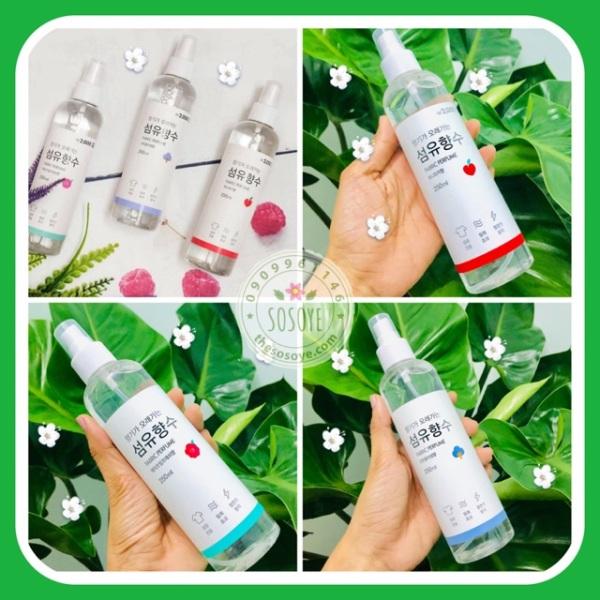 [Hot] Xịt thơm Hàn Quốc Fabric Perfume 250ml, cam kết sản phẩm đúng mô tả, chất lượng đảm bảo, an toàn cho người sử dụng