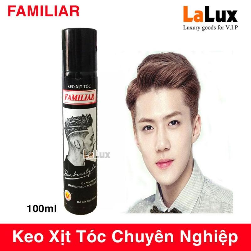 Keo Xịt Tóc Nam Chuyên Nghiệp BARBERSTYLE - Gom Xịt Tóc FAMILIAR Chất Lượng Cao FMLA100 nhập khẩu