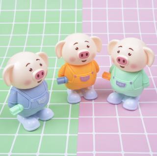 Heo (Lợn) Nhảy Múa Bằng Dây Cót Trend Titok [Đồ Chơi Trẻ Em] thumbnail
