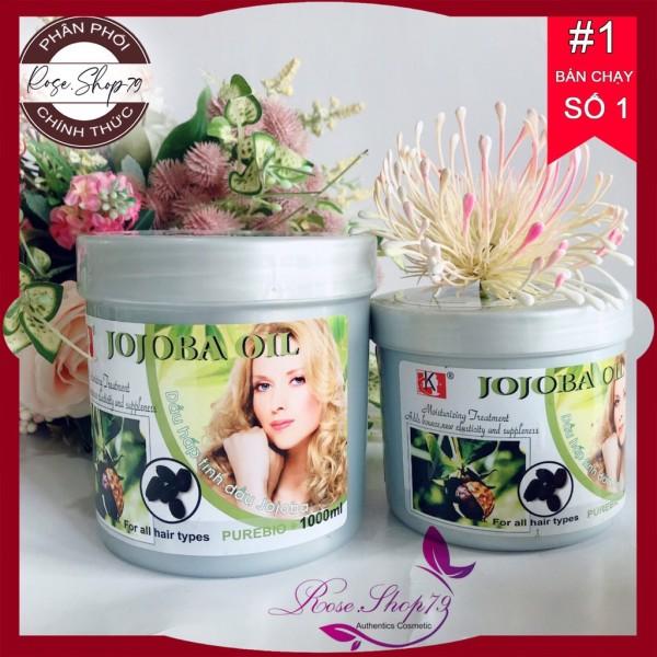 Dầu hấp dưỡng tóc tinh dầu Jojoba 1000ml|1000ml, shop cam kết 100% sản phẩm chính hãng nội ngoại nhập, bảo hành 1 đổi 1 nếu sản phẩm lỗi