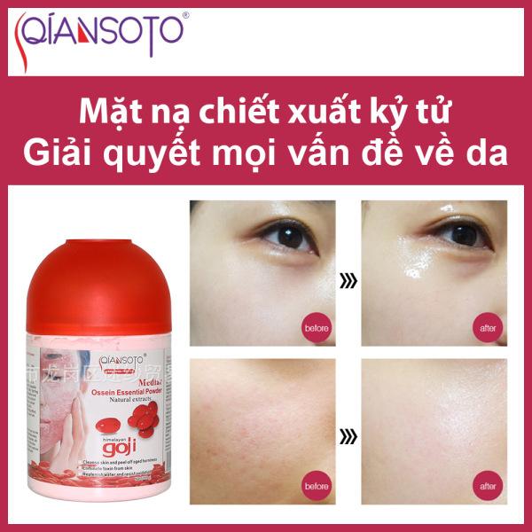 Mặt Nạ Kỷ Tử Chống Lão Hóa Cấp Ẩm Làm Da Mặt Sáng Mịn Săn Chắc Facial Mask Whitening Firming Qiansoto 185Ml