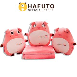 Gấu bông Hafuto Gối mền heo tròn cảm xúc quà tặng cho bạn gái đồ chơi trẻ em thumbnail