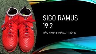 Giày đá bóng sân cỏ nhân tạo giá rẻ SiGo Ramus 19.2 - đế TF chống trượt, cổ thun định hình, tặng vớ chống trượt và túi rút, bảo hành 6 tháng thumbnail