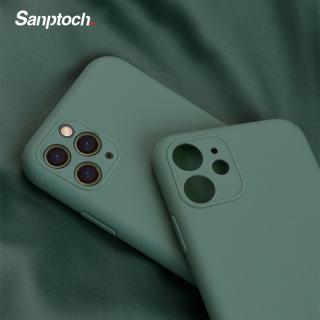 Sanptoch Ốp lưng silicon mềm nhiều màu siêu mỏng bảo vệ toàn diện điện thoại iphone 11 11 Pro Max - INTL thumbnail