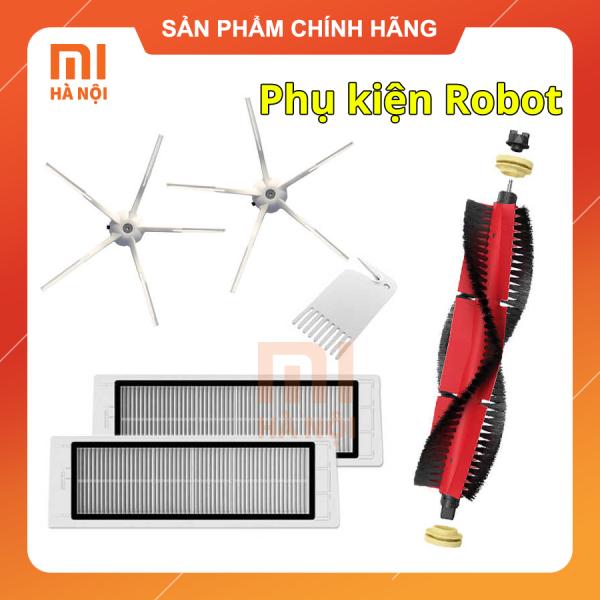 Phụ kiện giẻ lau / chổi quét góc / chổi chính / lọc bụi Robot Xiaomi S6 / S5 Max / Mop P / Mop