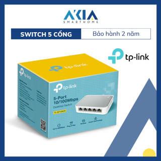Switch Chia Tín Hiệu Để Bàn 5 cổng 10/100Mbps TL-SF1005D - Hàng Chính Hãng