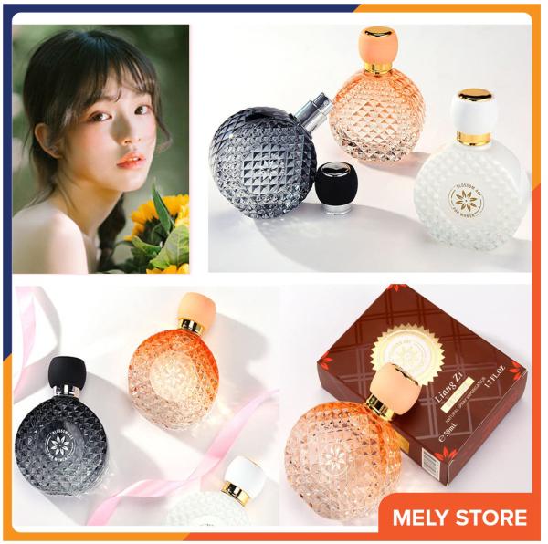 Nước hoa nữ chính hãng LIANGZI hương thơm kéo dài tạo nên sự thanh lịch, quyến rũ cho phái nữ, mùi hương thơm lâu quyến rũ, mùi ngọt, nhỏ gọn bỏ túi được, nước hoa nữ thơm lâu dịu nhẹ dạng xịt50ml Melystore PN023