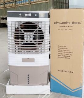 (Siêu phẩm) Quạt điều hòa công nghiệp 90L 12000m3 gió LBW-12000 - Máy làm mát không khí cỡ lớn 80L- Quạt điều hòa hơi nước-Bơm tự ngắt động cơ đồng- BH 1 năm- Phiên bản 2021 mới nhất thumbnail