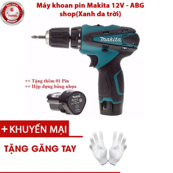 Bộ Khoan Pin Makita 12V Chữ nổi - Đầy Đủ Phụ Kiện 24 Chi Tiết