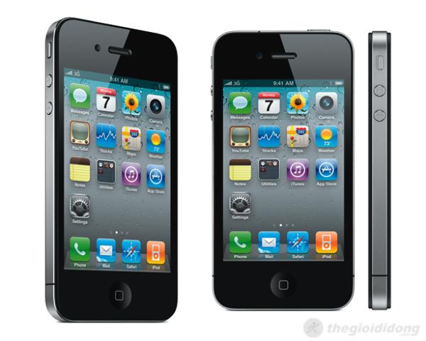 điện thoại iphone4G-hỗ trợ tải ứng dụng - bảo hành lâu dài