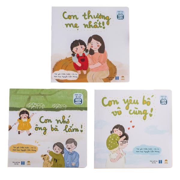 Sách Thiếu Nhi Cho Bé 1-6 tuổi - Gia Đình Bé Bỏng