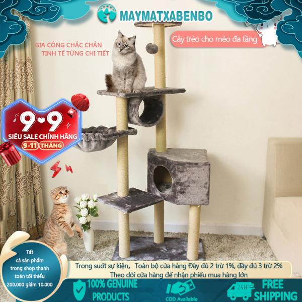[HCM]Cho Thú Cưng Hài Hước Trang Chủ Cào Bài Đào Tạo Khung Leo Trèo Cho Mèo