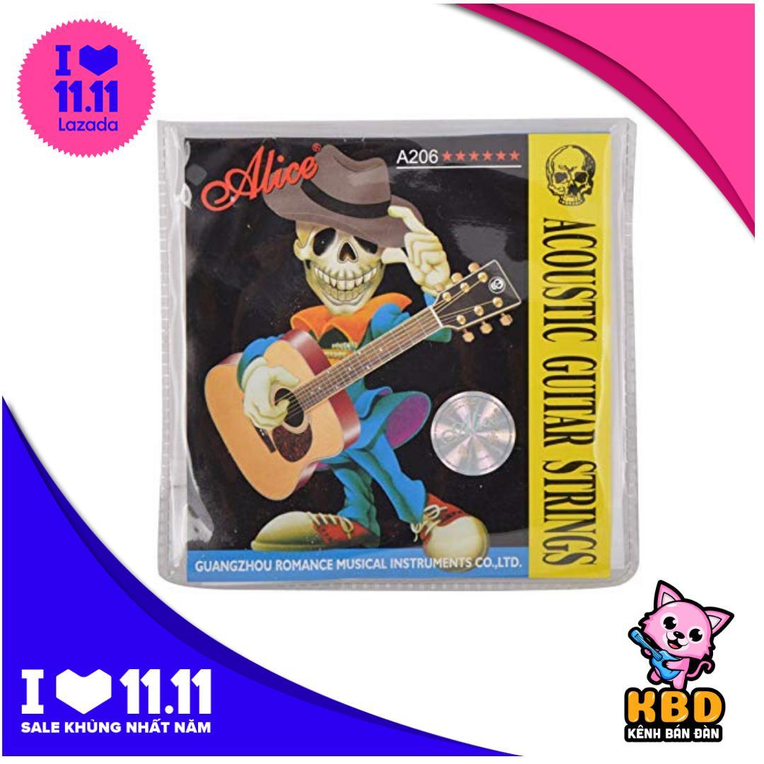 Dây đàn Guitar Acoustic Alice Strings-A406 Chất Lượng Cùng Khuyến Mại Sốc
