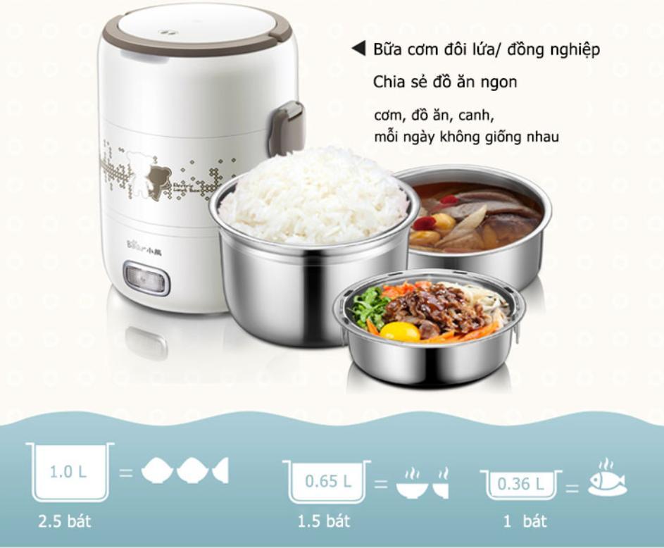 Deal Khuyến Mại WorldMart - Hộp Cơm Văn Phòng LunchBox Japan Quality VN-CL001