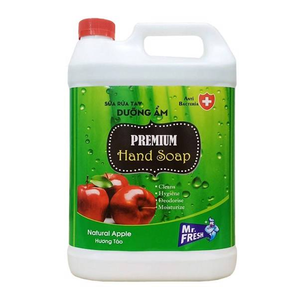 [Can 5 lít] Sữa rửa tay khử mùi Hàn quốc Mr.Fresh 5L Hương Táo GSG431 giá rẻ
