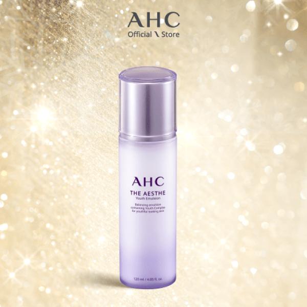 Sữa Dưỡng Trẻ Hóa Da AHC The Aesthe Youth Emulsion 120ml giá rẻ