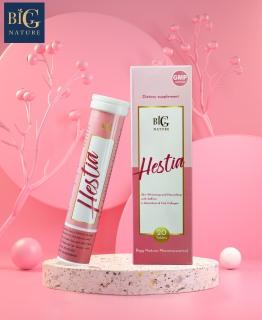 Viên sủi HESTIA Saffron Collagen cung cấp Collagen giúp da mịn màng, trắng sáng, giảm thâm nám - Hộp nhỏ 20 viên - Bigg Nature thumbnail