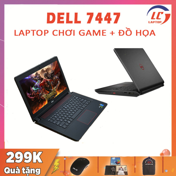 Bảng giá [Trả góp 0%]Laptop Gaming Đẳng Cấp Dell Inspiron 7447 i5-4200H VGA NVIDIA GTX 850M-4G Màn 14 HD Laptop Gaming Phong Vũ