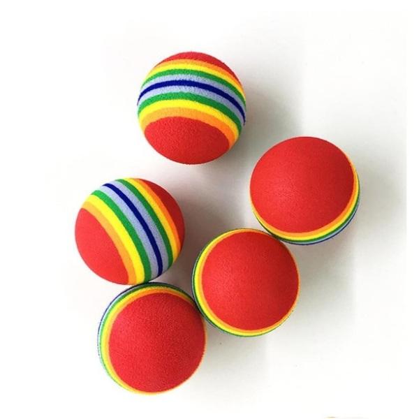 Bóng đồ chơi 7 màu cho chó mèo - Phụ kiện thú cưng