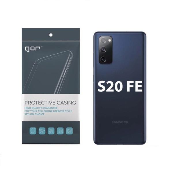 Ốp silicon GOR cho Samsung Galaxy S20 FE - Silicon hãng Gor có gờ bảo vệ camera