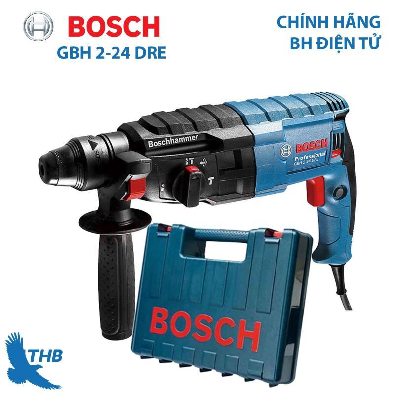 Máy khoan búa Máy khoan bê tông Máy khoan chính hãng Bosch GBH 2-24 DRE (công suất 790W khoan tường 68mm Bảo hành 12 tháng)