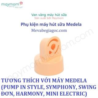 1 Van vàng Maymom - Tương thích với máy Medela (Pump in Style, Symphony, Swing đơn, Harmony, Mini Electric) thumbnail