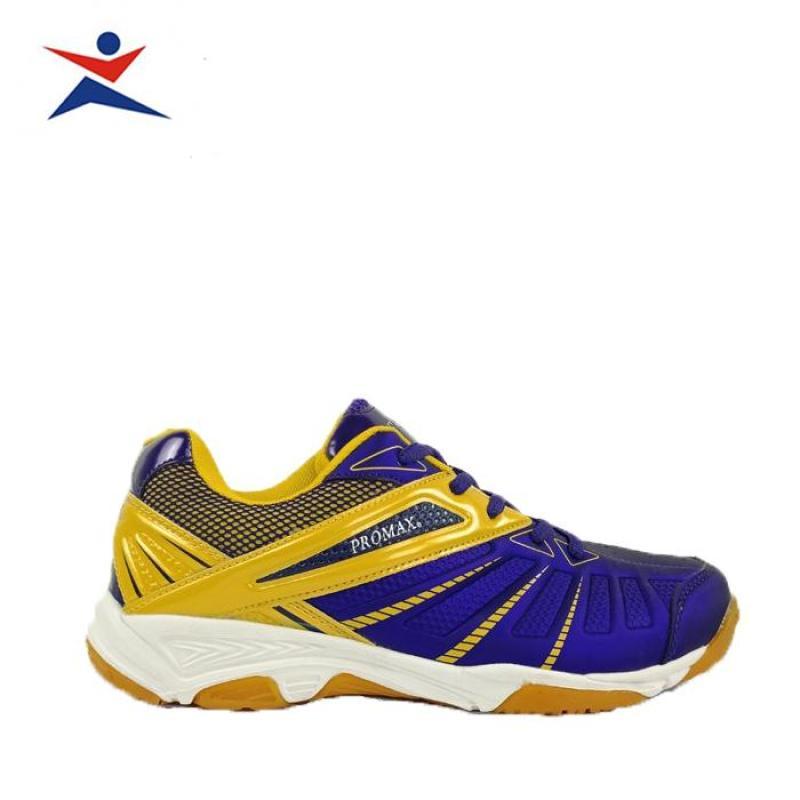 Giày cầu lông_thể thao Promax PR19001 cao cấp chuyên  nghiệp, siểu nhẹ, chịu được tác động cực manh, dành cho nam màu tím