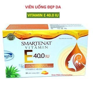 Viên uống đẹp da Hàn Quốc giúp bổ sung Vitamin E 4000mcg Om.ega 3 sáng mịn da chống lão hóa - Hộp 30 viên dùng 1 tháng 2
