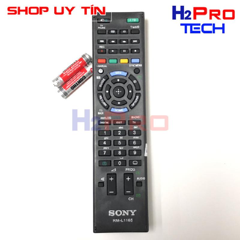 Bảng giá REMOTE ĐIỀU KHIỂN TIVI SONY SMART RM-L1165 điều khiển tv sony ( tặng đôi pin )