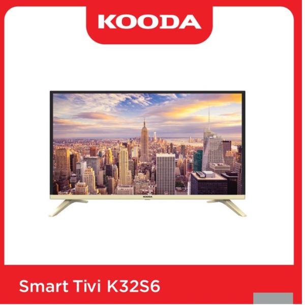 Bảng giá Smart TV Kooda 32inch HD  - K32S6 (Lỗi 1 đổi 1 trong 60 ngày)