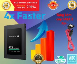 SSD TEAM GX1 120GB CHÍNH HÃNG TẶNG KÈM CÁP SATA 3 XỊN thumbnail
