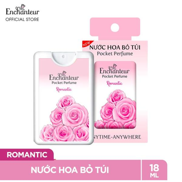 Nước hoa bỏ túi Enchanteur Romantic 18ml/hộp cao cấp