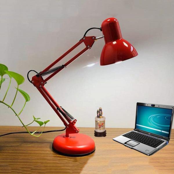 Đèn học (đèn bàn) kẹp bàn Pixar chống cận +Tặng kèm Bóng
